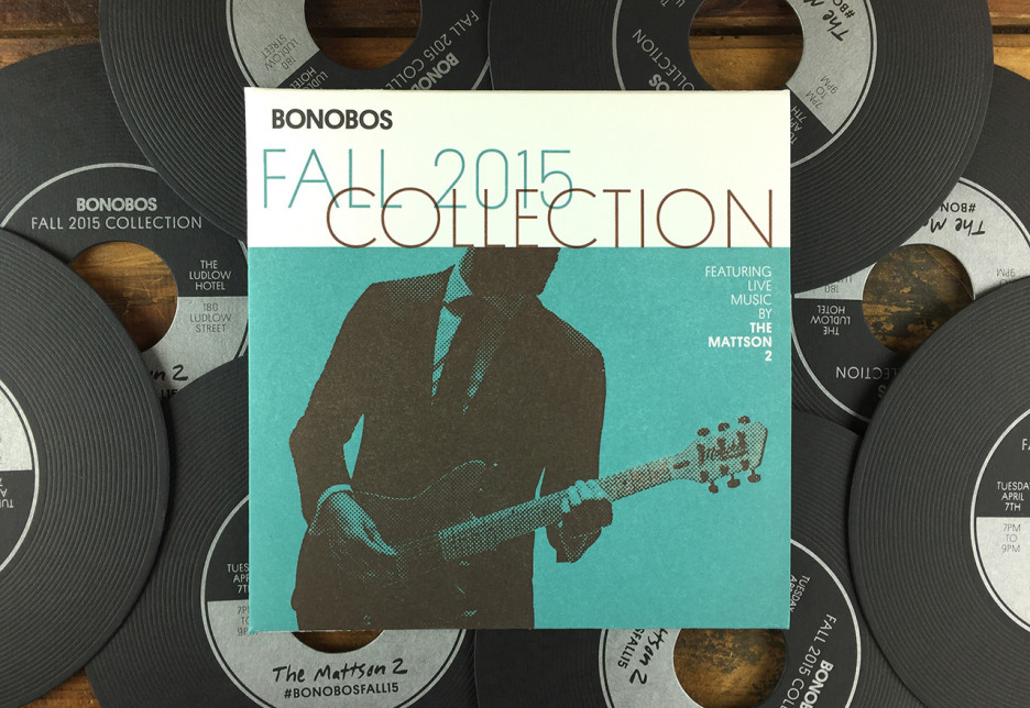 Bonobos Fall 2015 Collection Invite